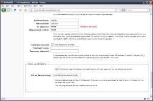 MediaWikis database.